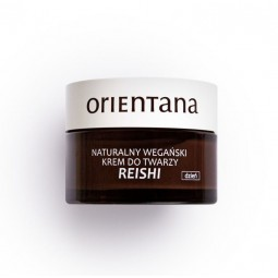 Orientana Naturalny wegański krem do twarzy REISHI na dzień - Reishi day. 50 ml.