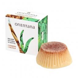 Orientana Balsam w kostce Cynamon i Paczula. 60 g.