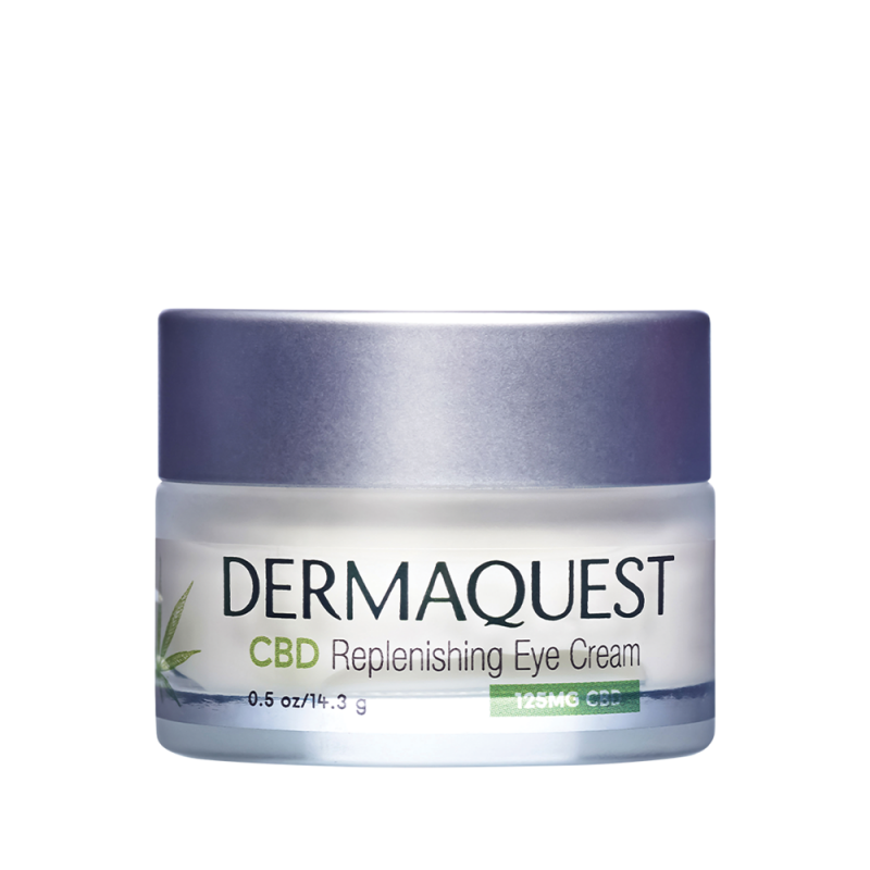 Dermaquest CBD REPLENISHING EYE CREAM. CBD Suplementacyjny krem pod oczy. 14,5 g.