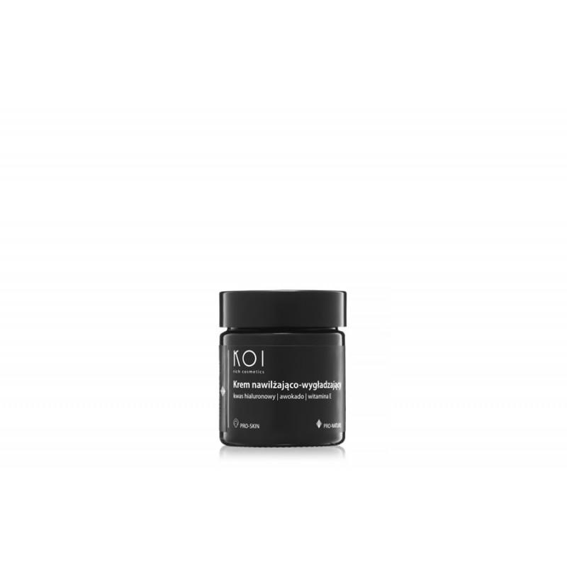 KOI cosmetics Krem nawilżający i wygładzający. 30 ml.