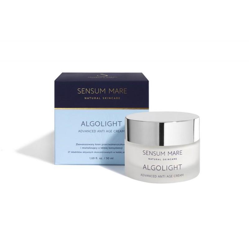 Sensum Mare ALGOLIGHT Zaawansowany krem rewitalizujący i przeciwzmarszczkowy o lekkiej konsystencji. 50 ml.
