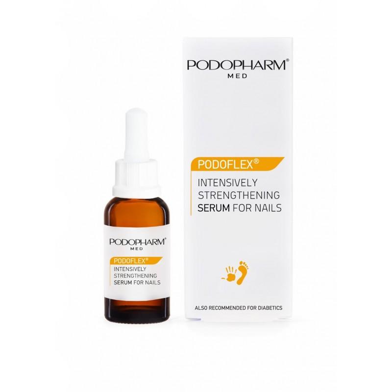 Podopharm med. Podoflex intenisely strengthening serum for nails intensywanie wzmacniające serum do paznokci 10ml