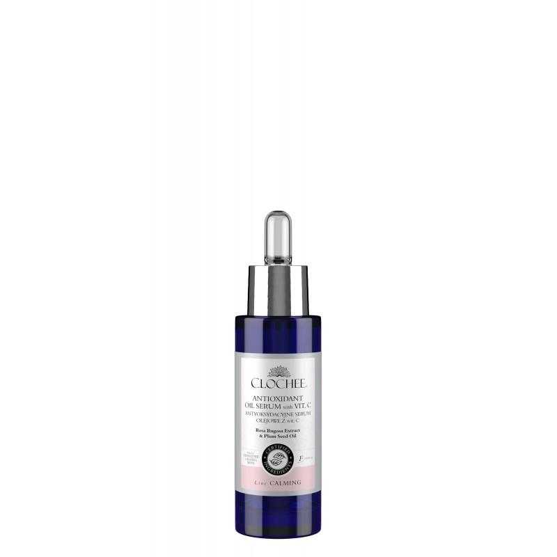Clochee antioxidant oil serum with vit C  antyoksydacyjne serum olejowe z witaminą C 30ml
