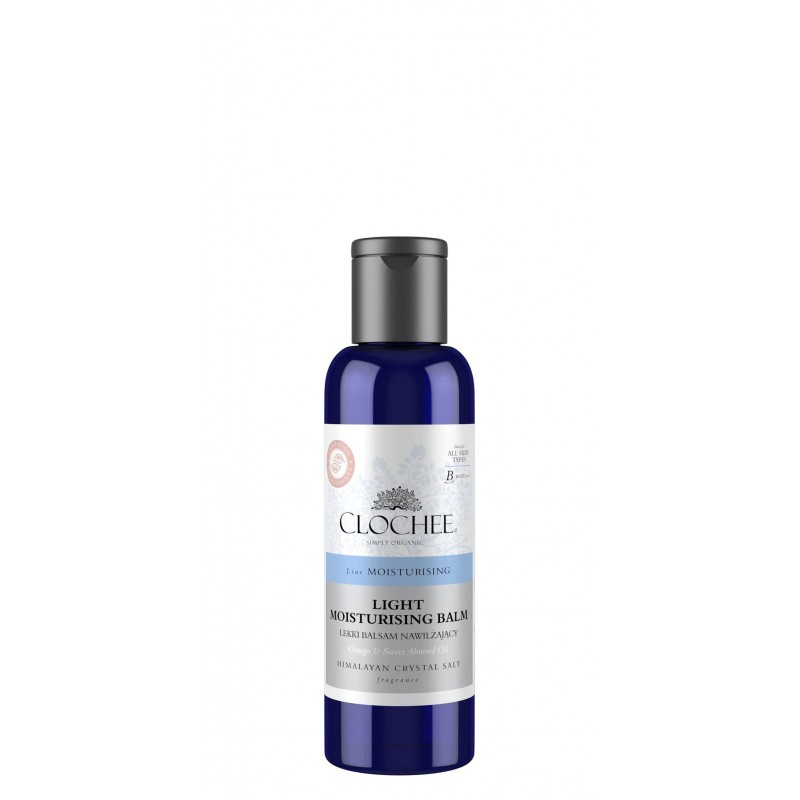 Clochee light moisturising balm himalayan crystal salt lekki balsam nawilżający sól himalajska wersja mini 100ml