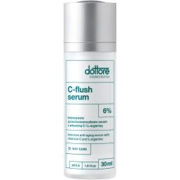 dottore c flush serum intensywnie przeciwzmarszczkowe serum z 6% witaminą c 30ml
