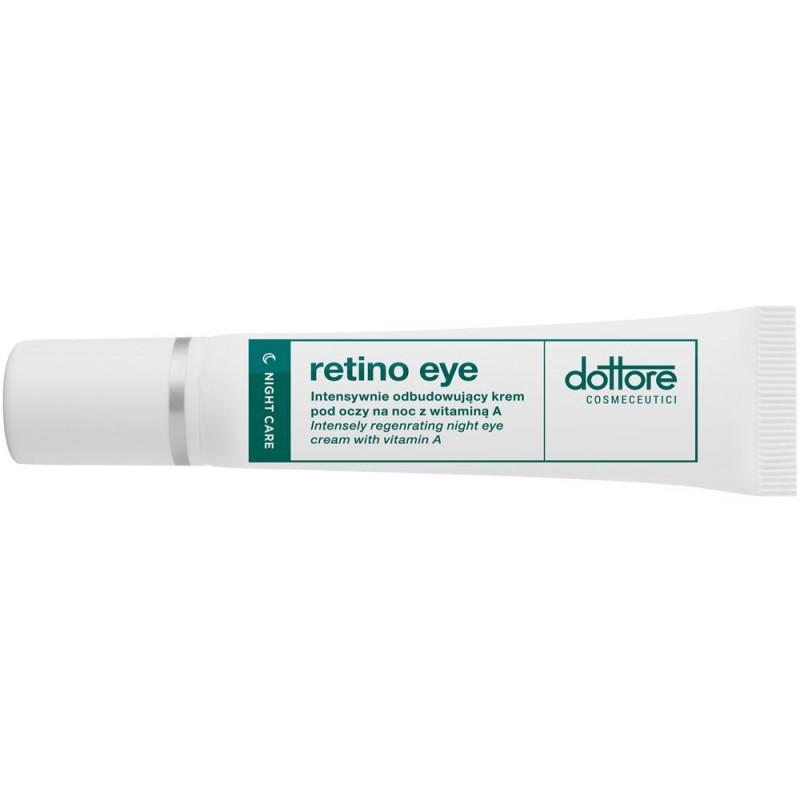 dottore retino eye intensywnie odbudowujący krem pod oczy na noc z 0,03% witaminą a 15ml