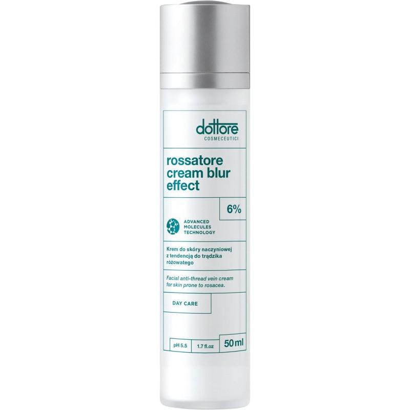 dottore rossatore cream blur effect krem dla skóry naczyniowej z tendencją do trądzika różowatego 50ml