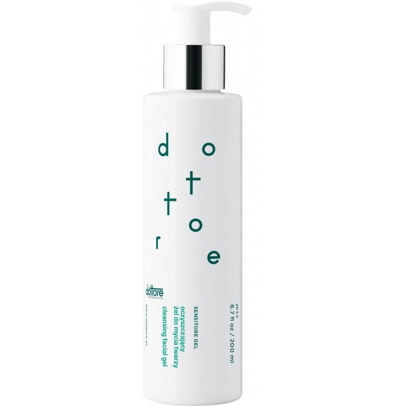 dottore sensitore gel oczyszczający żel do mycia twarzy 200ml