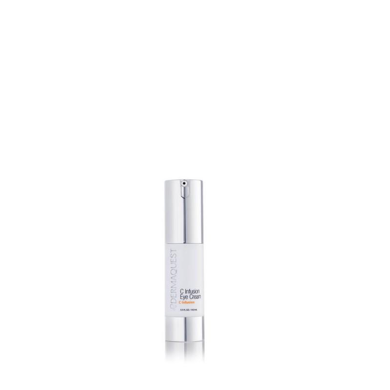 Dermaquest C Infusion Eye Cream. Przeciwstarzeniowy krem pod oczy z witaminą C i kwasem hialuronowym. 15 ml.