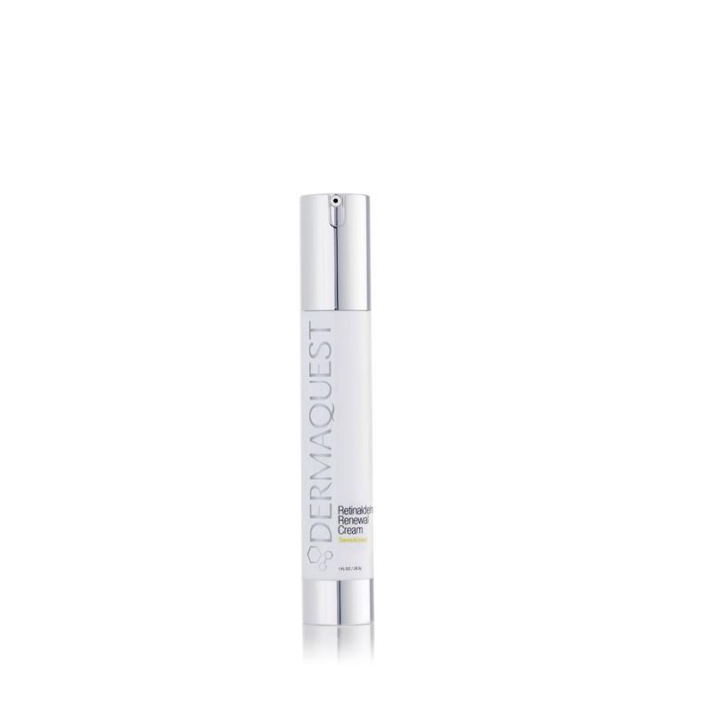 Dermaquest Retinaldehyde Renewal Cream. Przeciwstarzeniowy krem do skóry naczynkowej, z rumieniem i trądzikiem różowatym. 30 ml.
