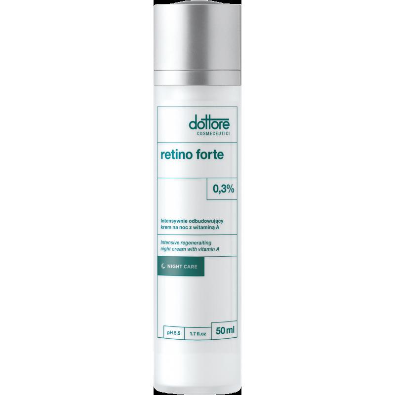 ottore Retino forte intensywnie odbudowujący krem na noc z 0,3% witaminą A 50 ml