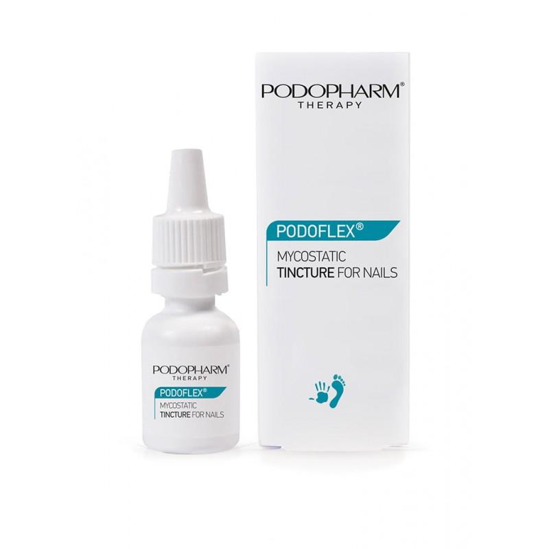 Podopharm. PODOFLEX® Mykostatyczna tinktura na grzybicę paznokci. 10 ml.