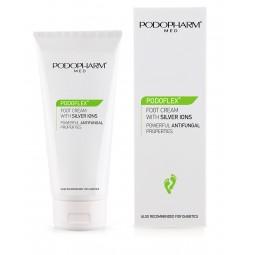 Popopharm PODOFLEX® Krem do stóp z jonami srebra. (75 ml)